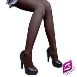 GLANZ東森購物網 折價券 格藍絲 絲感光小惡魔纖腿彈性絲襪-激瘦黑