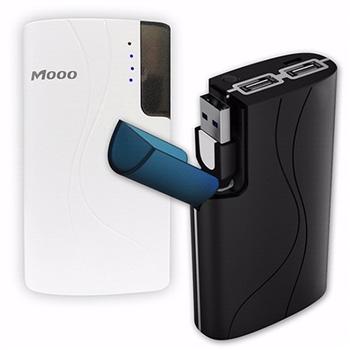 Mooo HB-J52-2 5200mAh 雙USB行動電源簡配