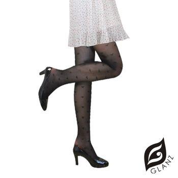 【GLANZ格藍絲】日系甜美辛辣造型顯瘦透膚襪(甜心寶貝)