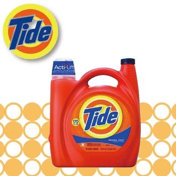 美國汰漬Tide 2X濃縮洗衣精 170oz X 1/罐