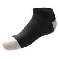 AFC 抗菌除臭銀纖維船型襪 黑色26cm 1雙入