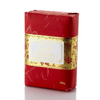 BELLE SECRET優雅貴婦玫瑰精油皂100g×3