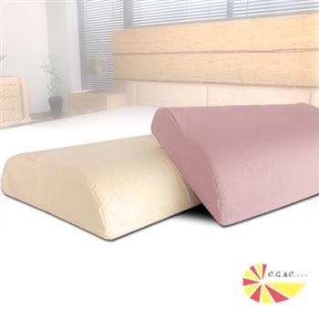【凱蕾絲帝】工學大枕專用100%純棉枕頭套(一組2入)2色可選