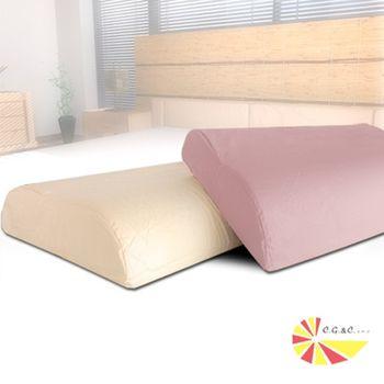 【凱蕾絲帝】工學健康大枕專用100%純棉枕頭套-紫芋x2+米黃x2