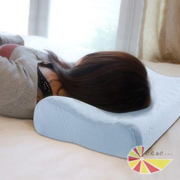 【凱蕾絲帝】高密度灌模記憶科技釋壓枕頭(中)