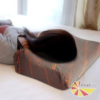 【凱蕾絲帝】高密度灌模系列-三D優眠記憶枕(側睡專用)