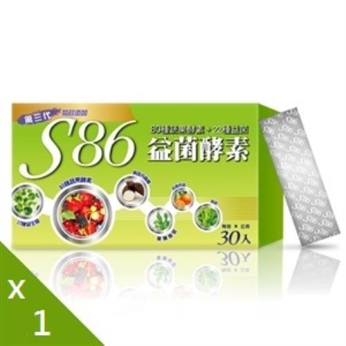 S86全方位益菌酵素1入