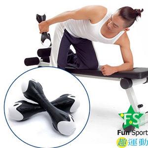 《Fun Sport》創意訓練啞鈴一對(6公斤)