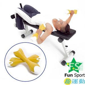 《Fun Sport》創意訓練啞鈴一對(4公斤)