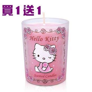 【本月最殺】買1送1- Kitty玫瑰麝香浪漫香氛蠟燭