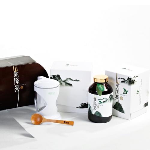 【雷曼德 森林寶藏】養生活力 嵩降茶(270g/罐)4罐贈沖茶器