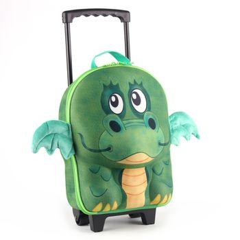 德國 okiedog 兒童3D動物造型系列-拉桿式行李箱(龍)