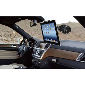 通用平板電腦加大吸盤車架 可360度自由調整 -A09