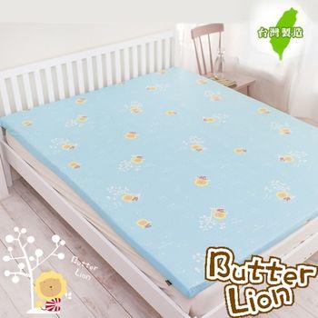【奶油獅】100%純棉5CM床墊專用布套-單人加大3.5尺(3色)