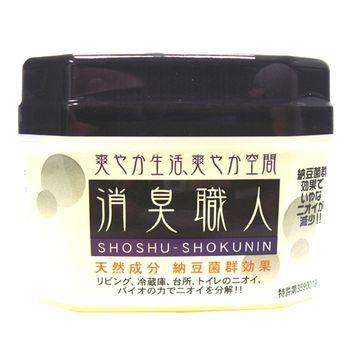 日本原裝 BE BIO消臭職人(凝膠型)(黃色)100g
