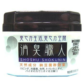 日本原裝 BE BIO消臭職人(凝膠型)(藍色)100g