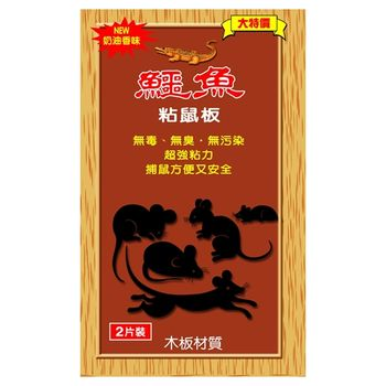 鱷魚粘鼠板(小)-12入