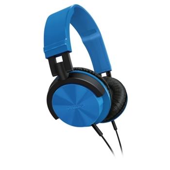【PHILIPS飛利浦】SHL3000輕量頭戴式耳機(天空藍)