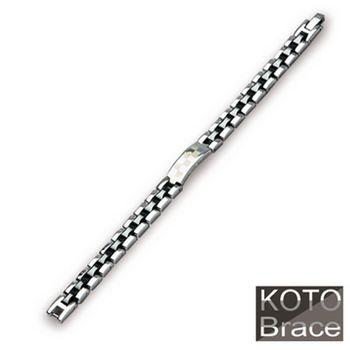 【KOTO】時尚之首中珠精密陶瓷白鋼手鏈(CS-999GE)網