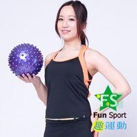 ~Fun Sport~舒力活抗力球~ 20cm顆粒