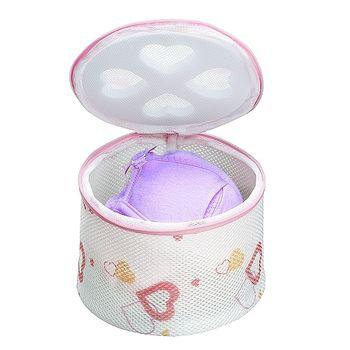 日本AISEN【心形印花】內衣洗衣網L