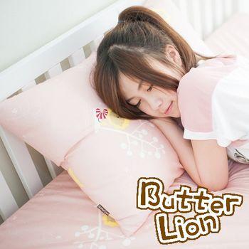 【奶油獅】MIT正版授權100%精梳純棉珍珠球棉枕(中)-3色