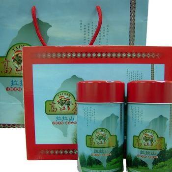 【台灣名茶】拉拉山高山烏龍茶2入禮盒(2盒)組