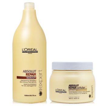 萊雅 LOREAL 極致細胞賦活洗髮+潤髮 (2入)組