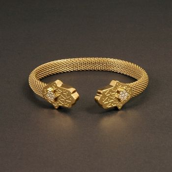 Sarlisi 星鑽鬱香西德鋼手環