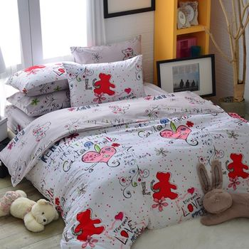 義大利Fancy Belle《心靈感應》單人三件式舖棉兩用被床包組
