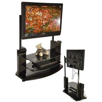【凱堡】凱特可移動式液晶電視固定架/展示架 (免釘牆/不破壞牆面)