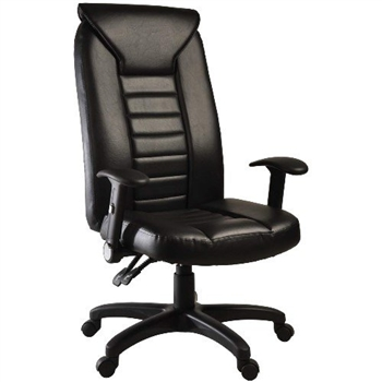 【凱堡】豪大人造皮革主管椅/辦公椅/電腦椅