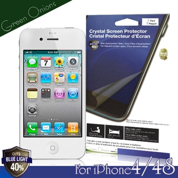 Green Onions iPhone4/4S抗藍光保護貼