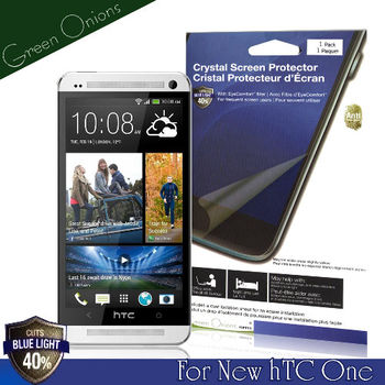 Green Onions New hTC One 抗藍光保護貼