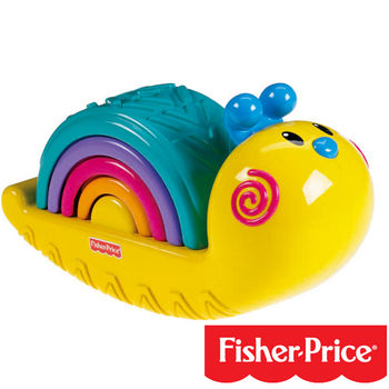 【Fisher-Price費雪】彩虹蝸牛疊疊樂