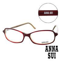 Anna Sui 安娜蘇  平光眼鏡 ^#40 紅 ^#41 AS00302