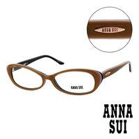 Anna Sui 安娜蘇  款 平光眼鏡 ^#40 咖啡 ^#41 AS09003
