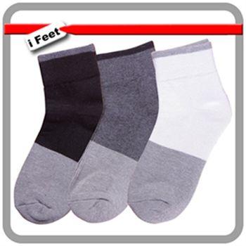 【老船長】奈米竹炭毛巾氣墊厚底童襪-12雙入(黑/白/灰)