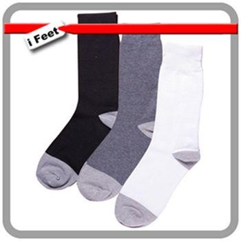【老船長】奈米竹炭抗菌除腳臭3/4長中統襪-12雙入(黑/白/灰)