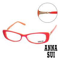 Anna Sui 安娜蘇 立體精雕 平光眼鏡 ^#40 螢光粉 ^#41 AS10403