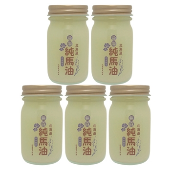 北海道‧天然堂 日本限定版 純馬油 70g(亞麻籽 版)5入組