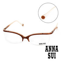 Anna Sui 安娜蘇 魔幻漸層立體精雕 平光眼鏡 ^#40 金 ^#41 AS0340