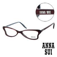Anna Sui 安娜蘇 魔幻 蝴蝶 平光眼鏡 ^#40 酒紅 ^#41 AS03603