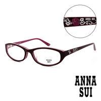 Anna Sui 安娜蘇 立體 薔薇精雕 平光眼鏡 #40 紫 #41 AS579733