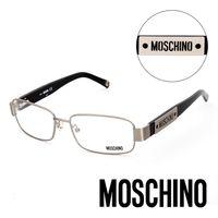 MOSCHINO 義大利 復古 金屬平光眼鏡 #40 黑 #41