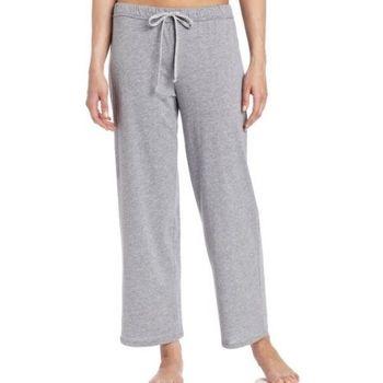 NAUTICA 女魅力灰色針織長睡褲