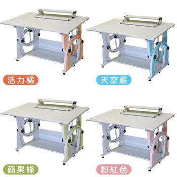 【時尚屋】KIWI桌面可調整兒童升降成長書桌G115