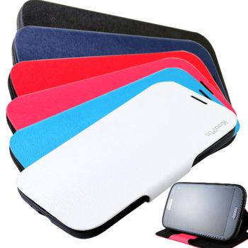 KooPin 三星 Galaxy S4 貂紋薄型 可立式側掀皮套