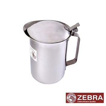 【Zebra 斑馬】不鏽鋼掀蓋式冷水壺1.5公升