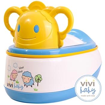 【ViVibaby】羊咩咩便器(藍/粉)